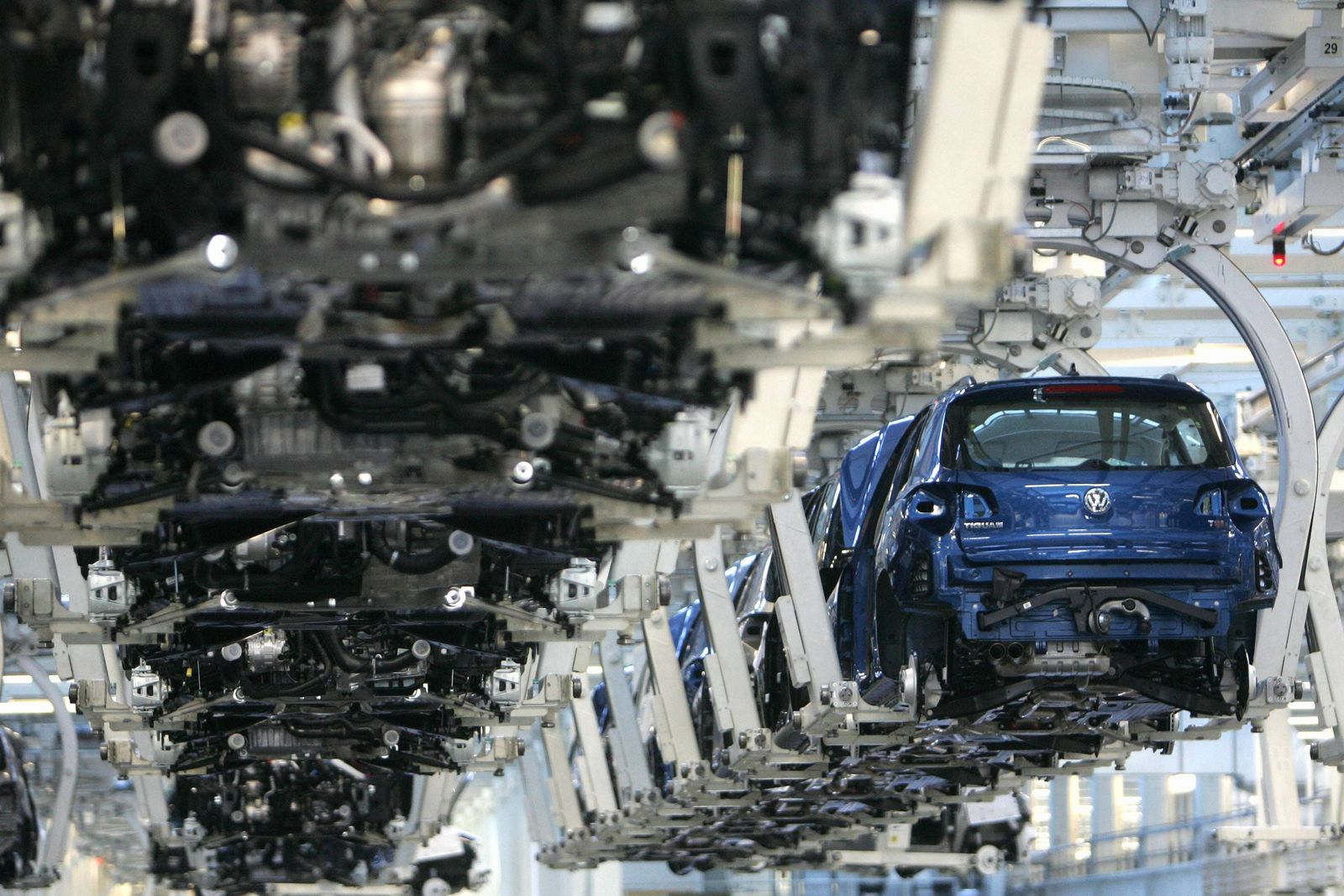 NICHT VERWENDEN Volkswagen/ Produktion WOlfsburg