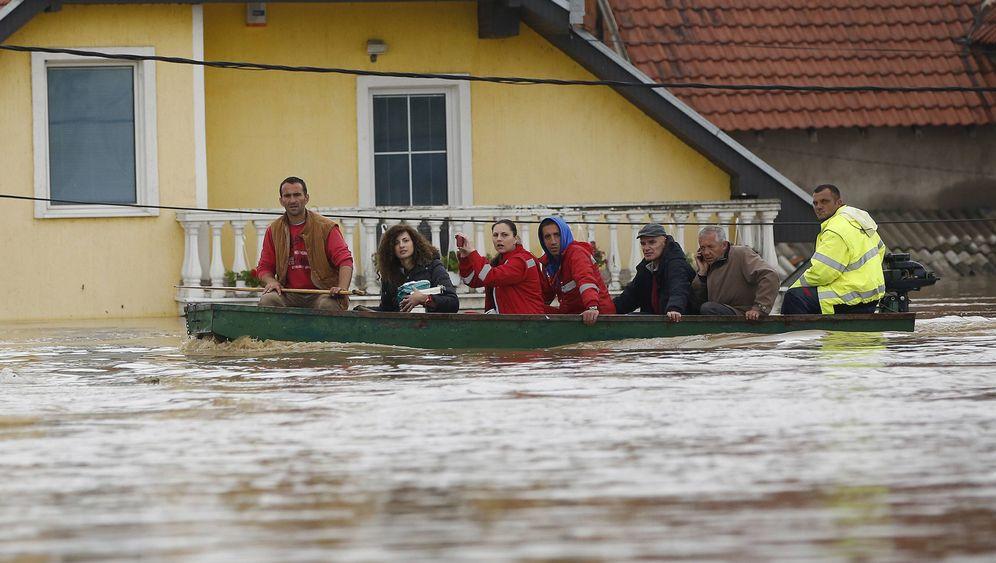 Überschwemmungen in Bosnien und Serbien: Wie bei einem Weltuntergang