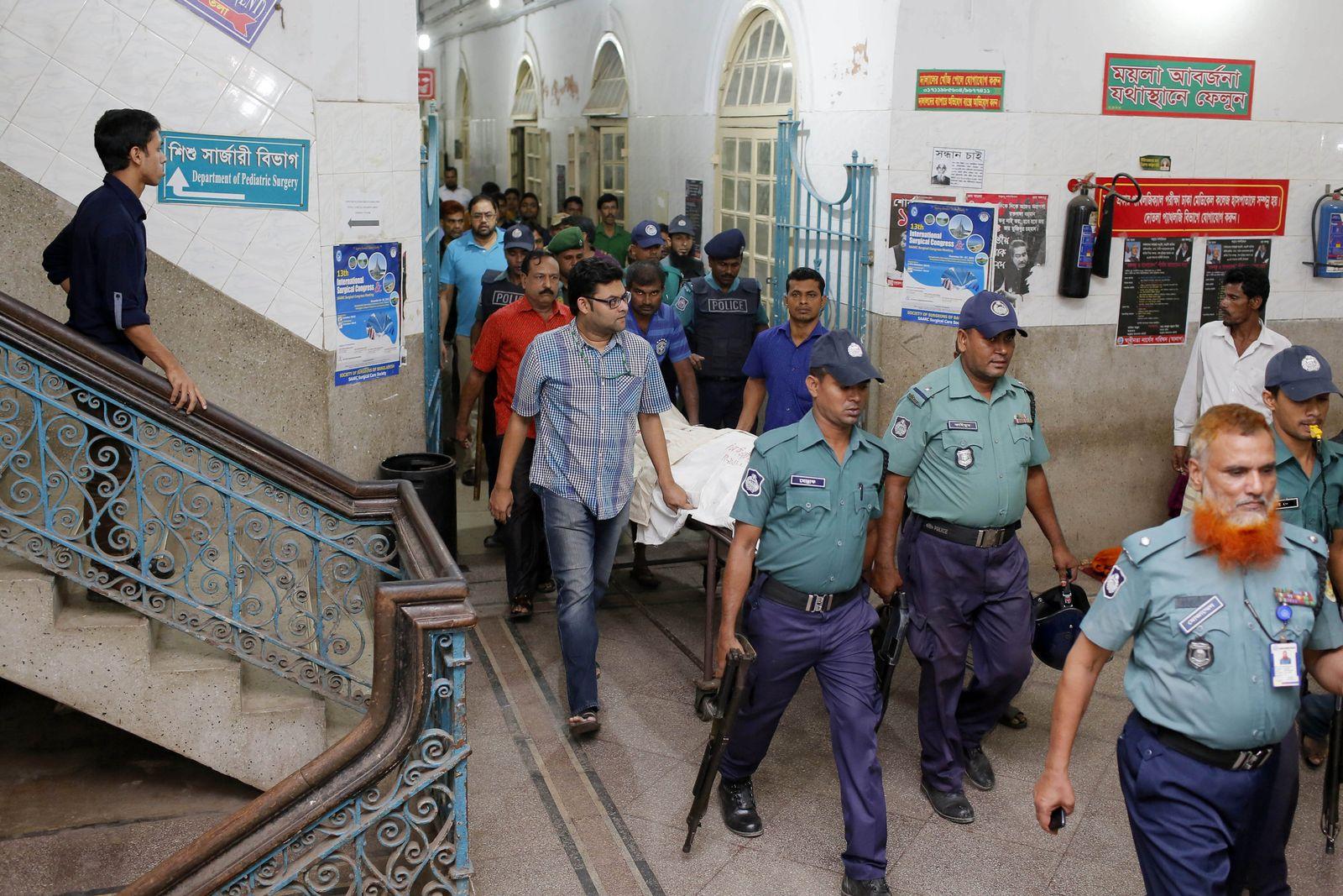 Bangladesch: Verleger Faisal Arefin ermordet
