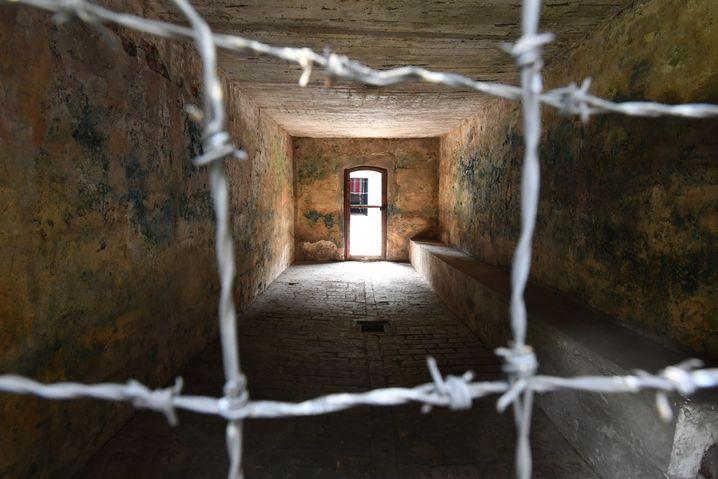 Gaskammer im früheren KZ Stutthof