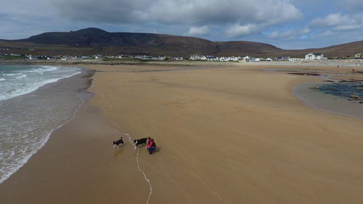 Neuer Strand von Dooagh