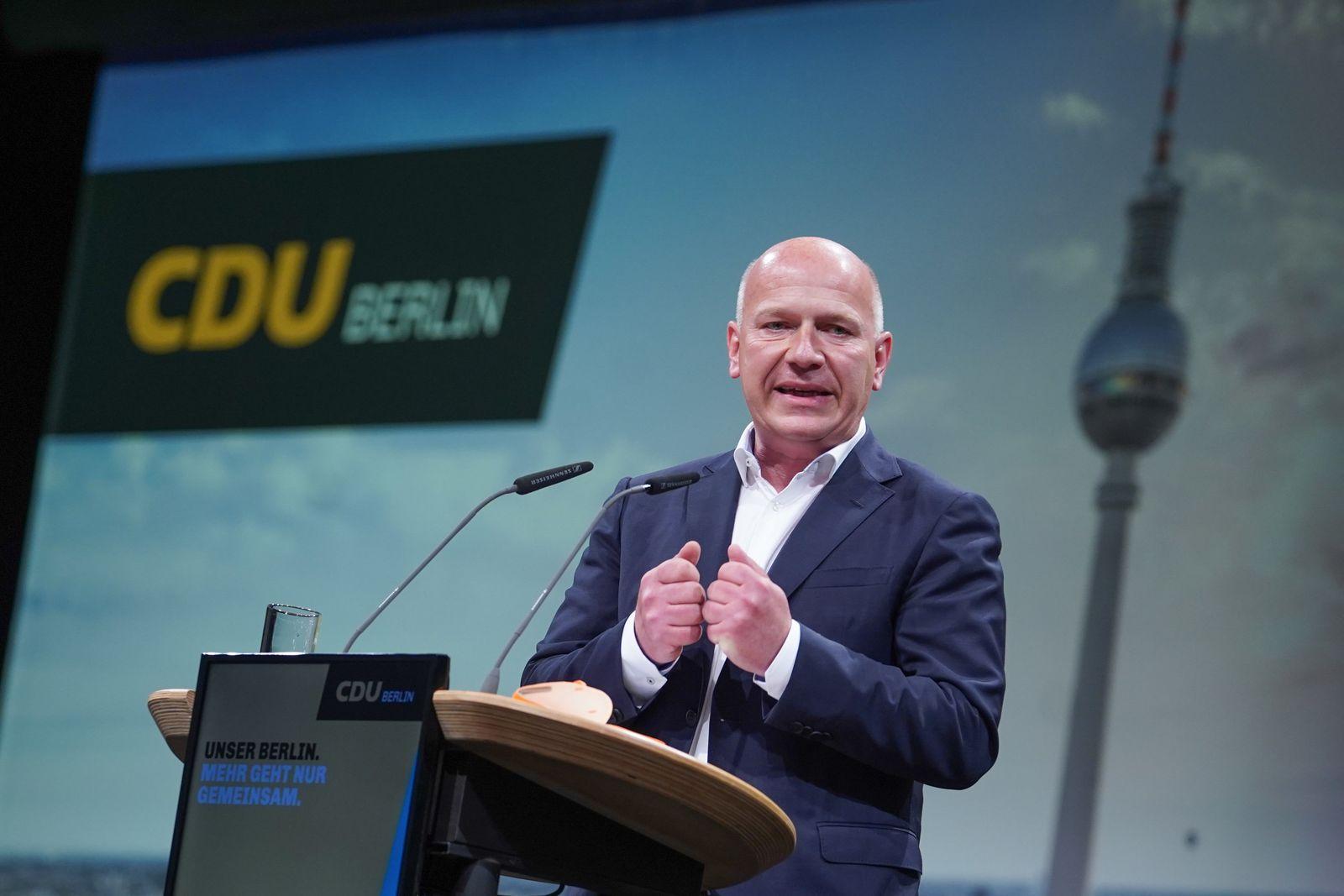 Parteitag CDU Berlin