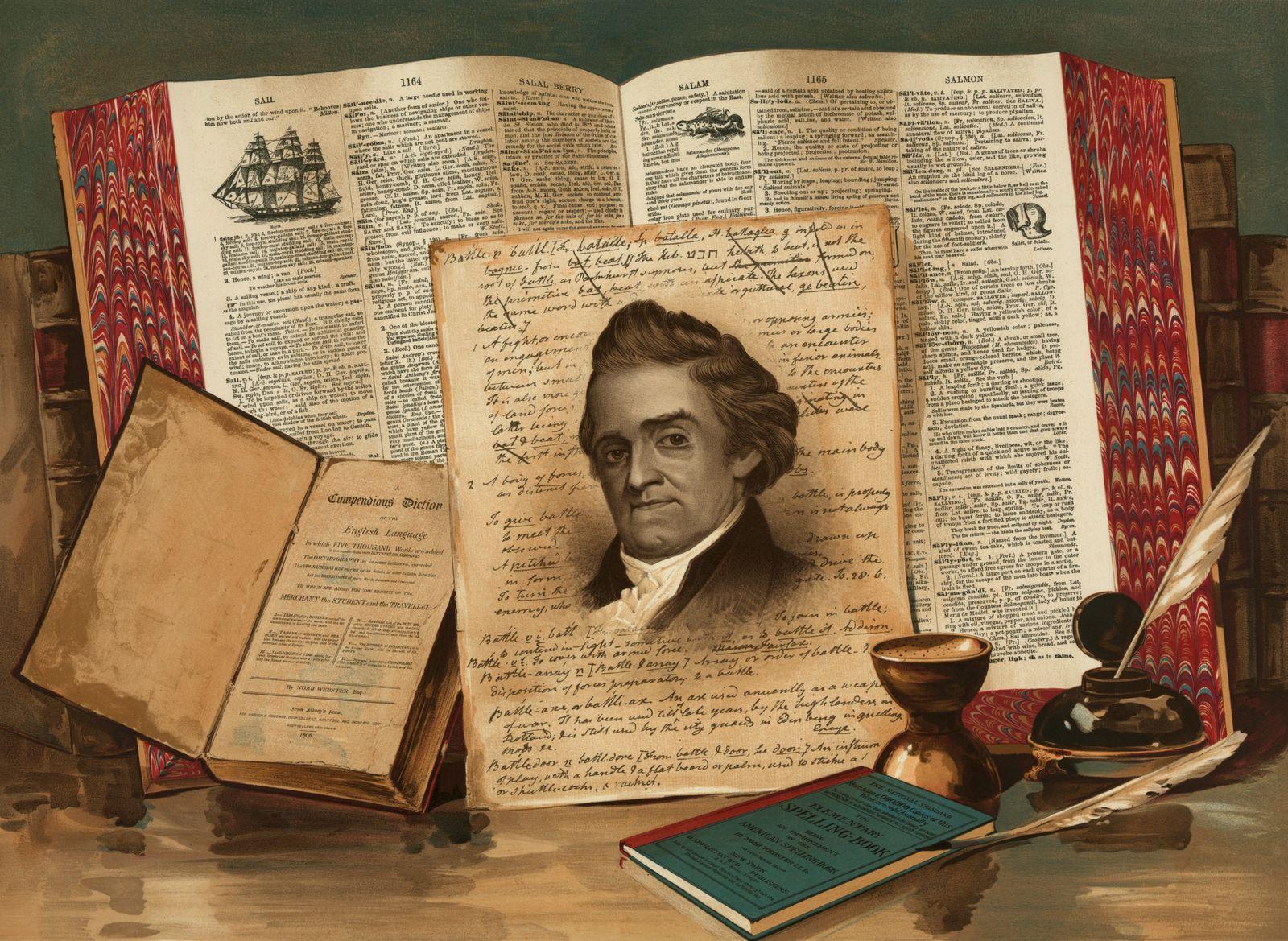 Noah Webster - Schoolmaster of the Republic