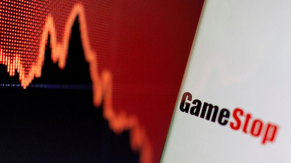 Kurs des Videospieleherstellers Gamestop (Archivbild): Börsenbeben mit Nachspiel