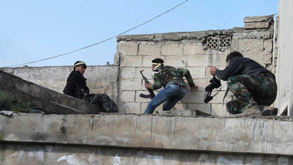 """Rebellen der """"Freien Syrischen Armee"""": 10.000 Kämpfer für """"Tauhid al-Dschanub"""""""