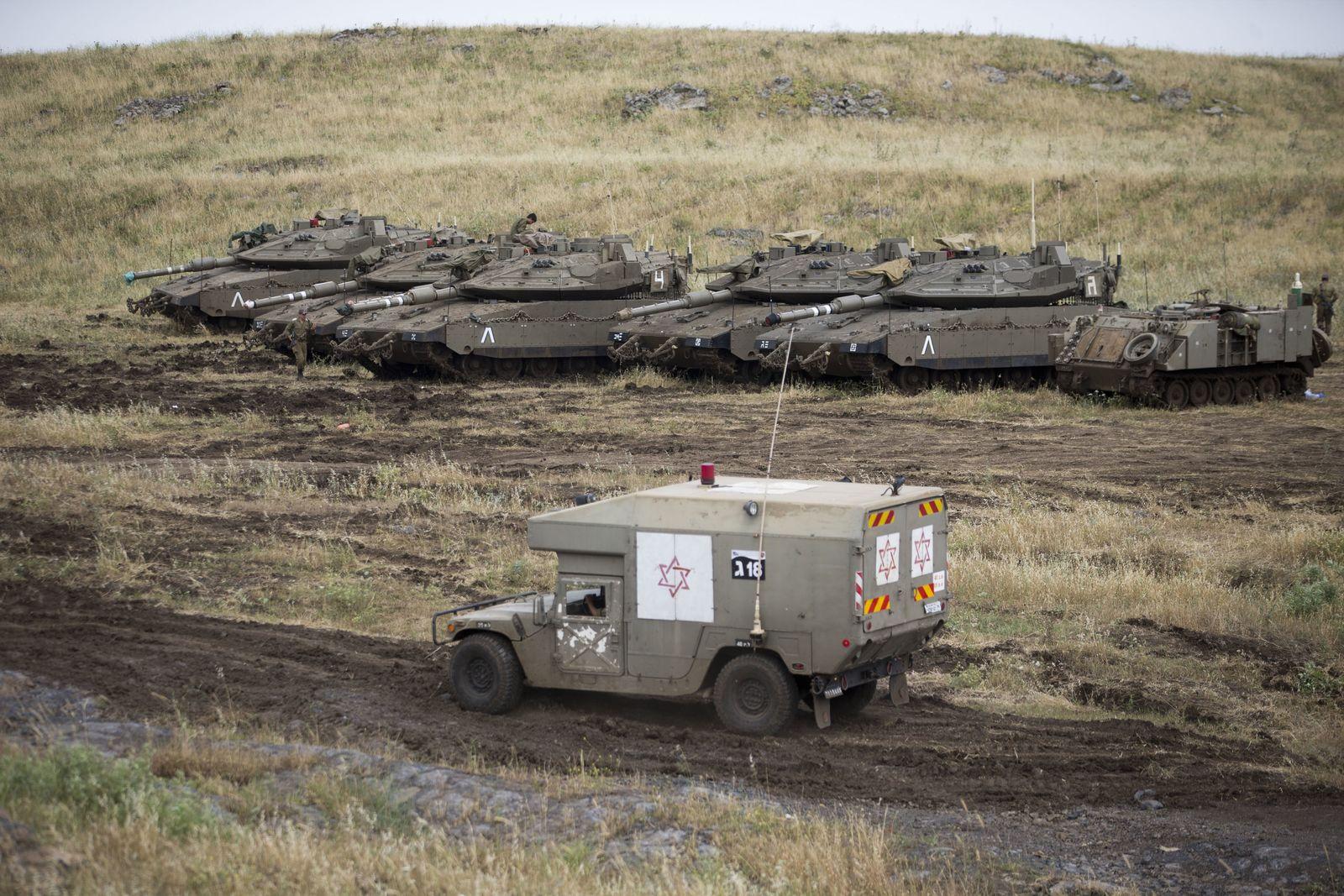 Nach Angriff mit Raketen auf Golanhöhen
