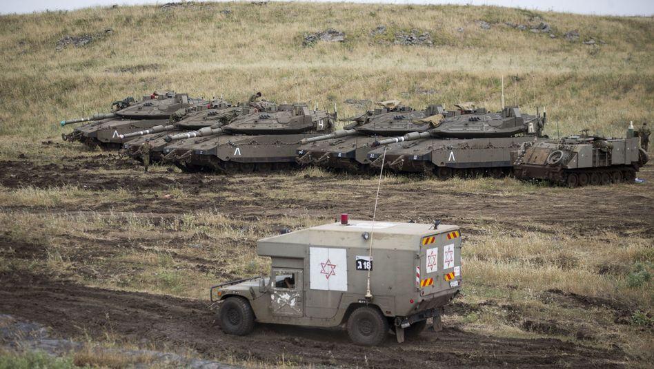 Krankenwagen der israelischen Armee