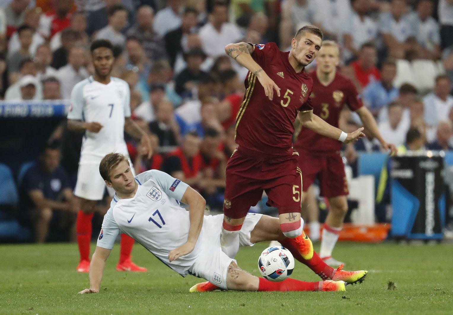 England Vs Russland
