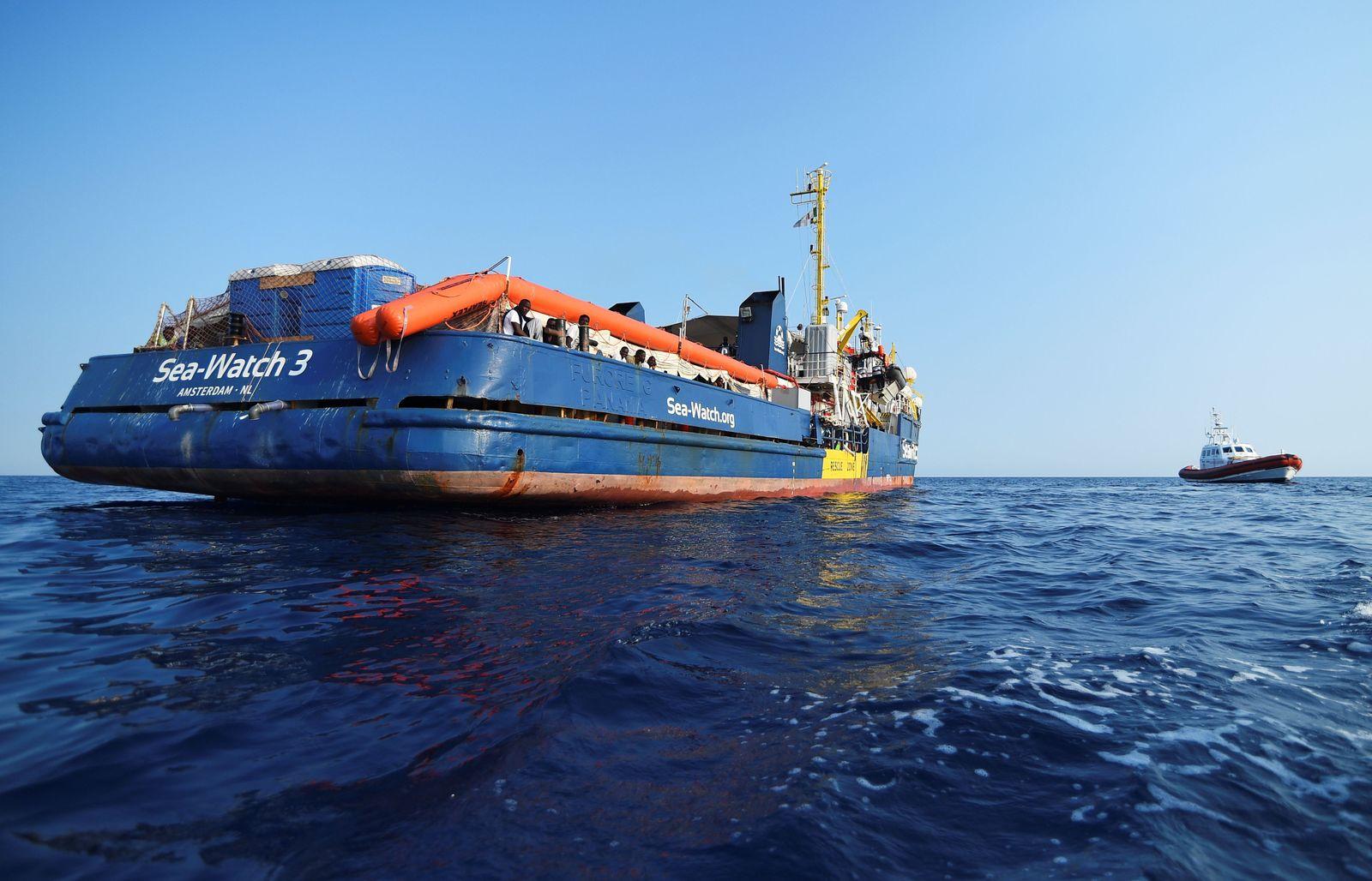 Sea-Watch 3 Lampedusa