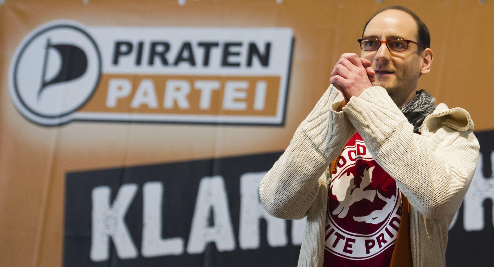 NICHT VERWENDEN Piratenpartei/ Johannes Ponader