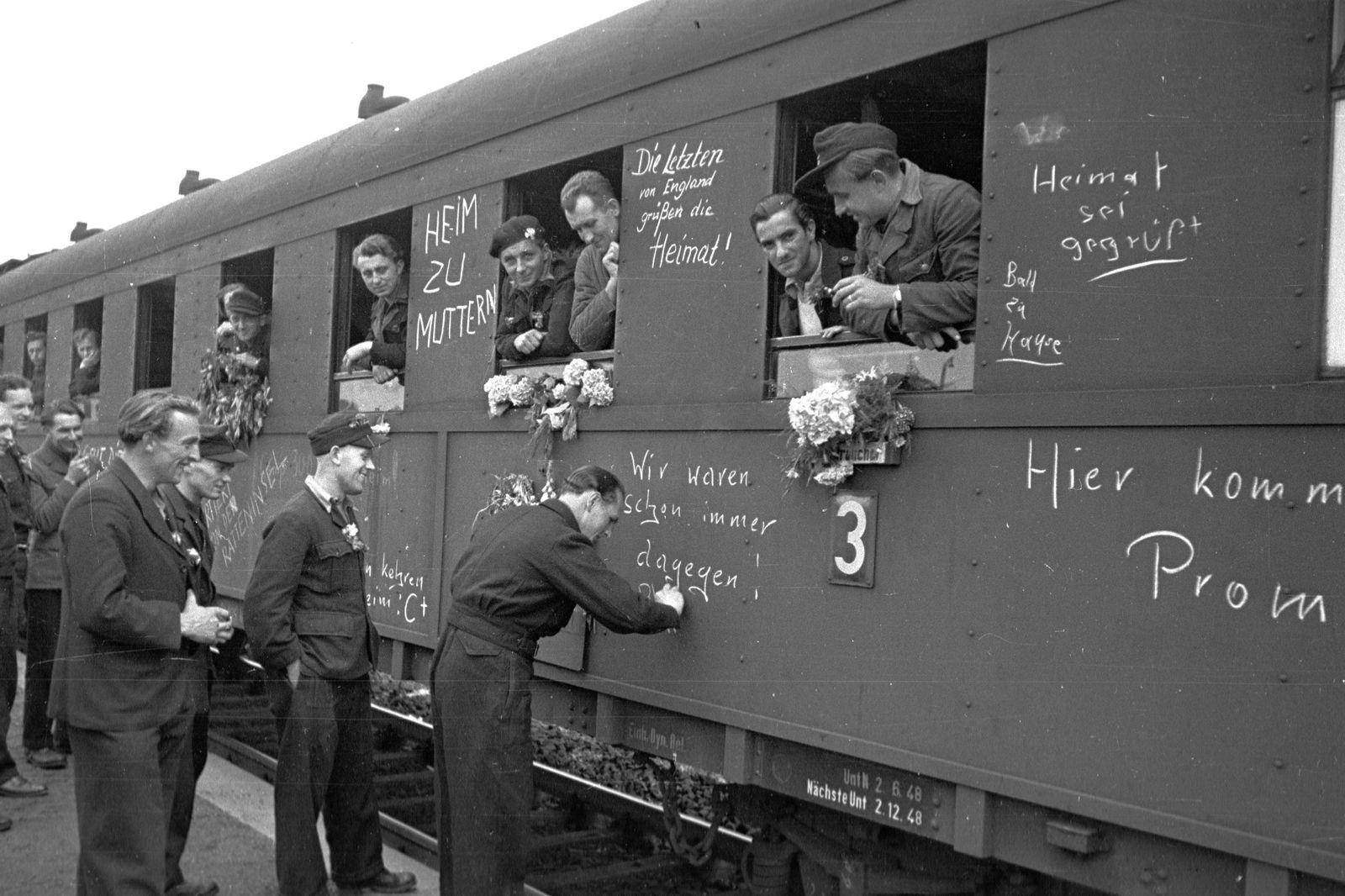 Kriegsheimkehrer / 2. Weltkrieg / WK II