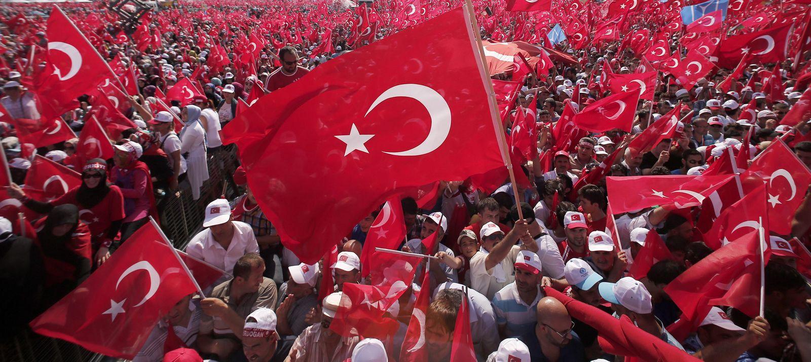 Istanbul/ Erdogan Kundgebung