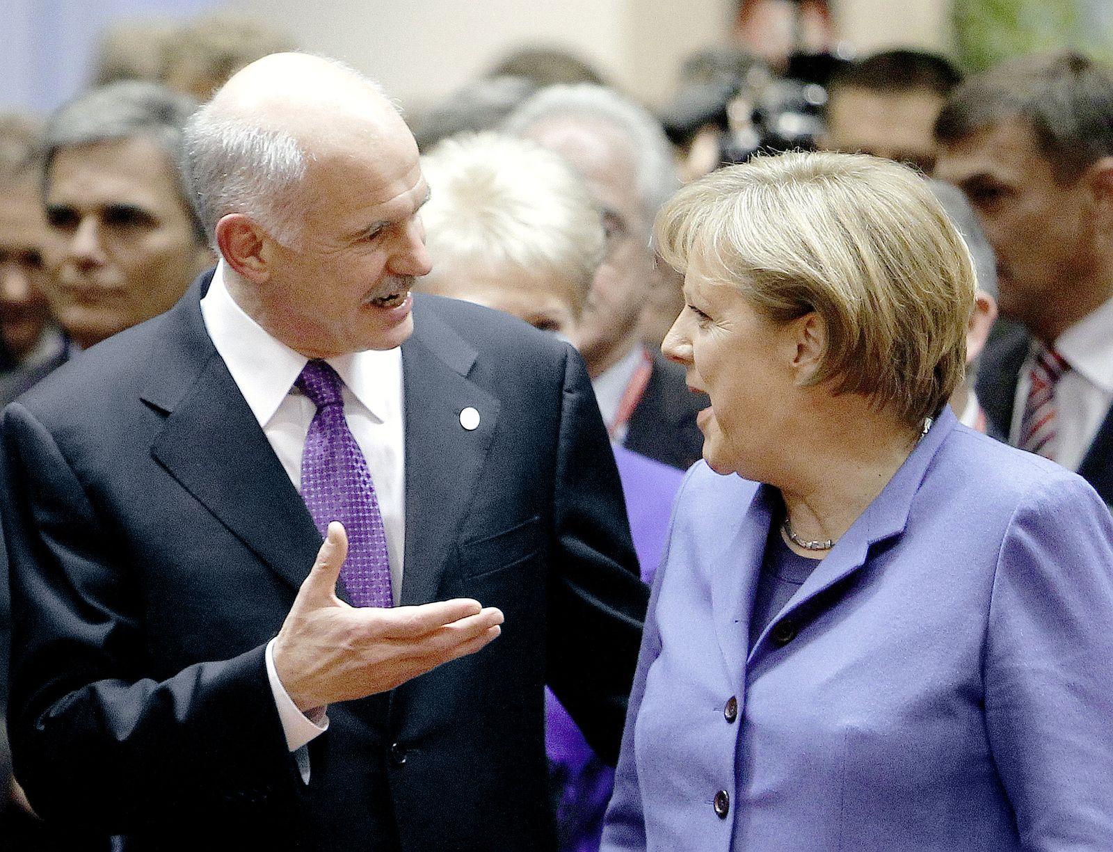 Merkel / Papandreou