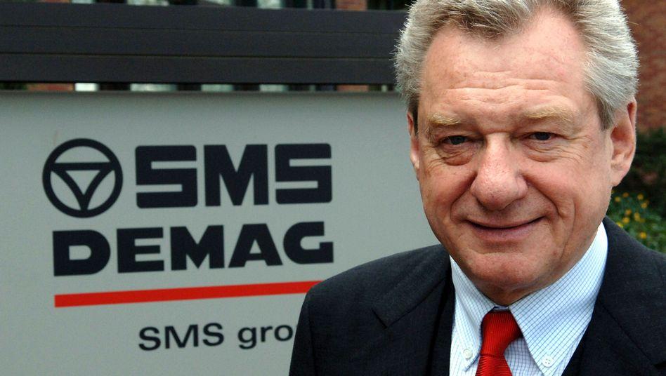 SMS-Chef Heinrich Weiss: Unterstützung für die AfD