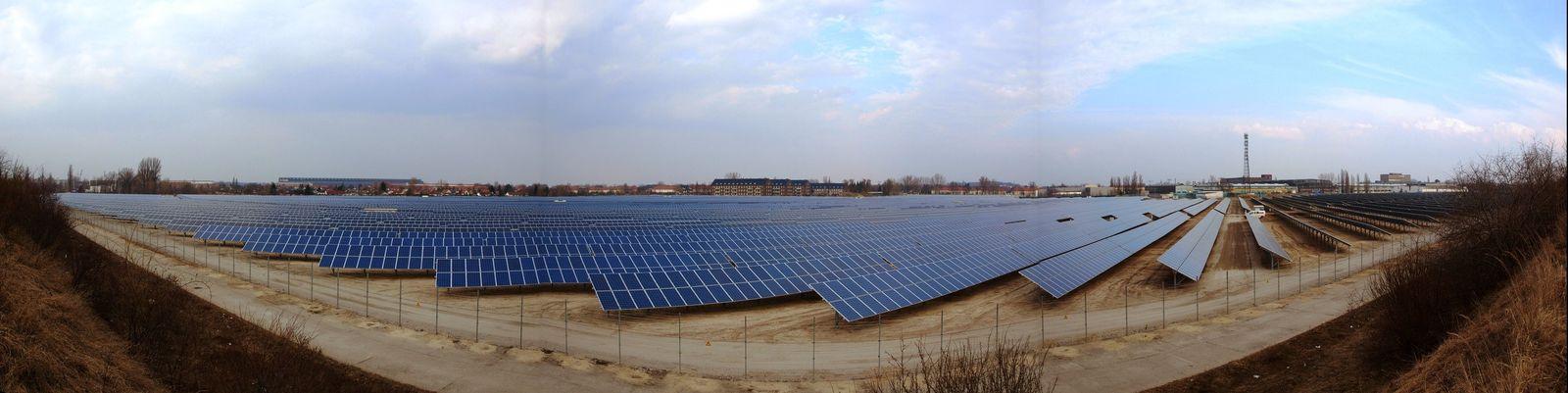Solarpark / Brandenburg