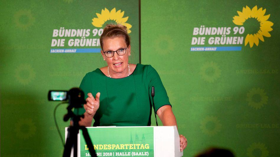 Die sachsen-anhaltische Grünen-Chefin Britte-Heide Garben bereut ihr Vorgehen
