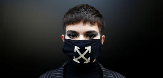London Fashion Week: Mundschutz als Fashion Statement
