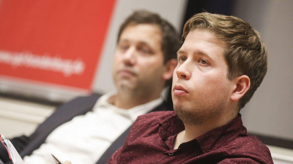 SPD-Vize und Juso-Chef Kevin Kühnert
