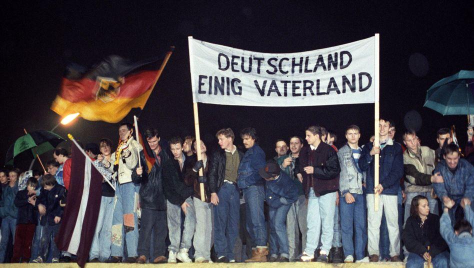 """Berliner am Brandenburger Tor 1989: """"Die DDR kam mir vor wie das Herz der Finsternis"""""""