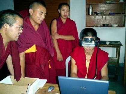 Meditationsexperten: Bilder über Minuten stabil