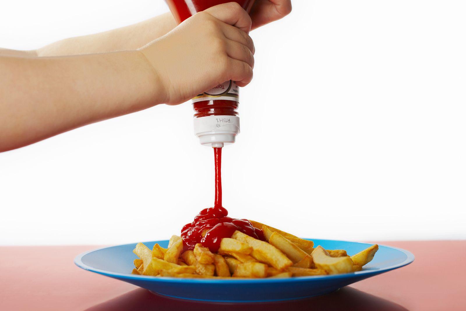 EINMALIGE VERWENDUNG Ketchup