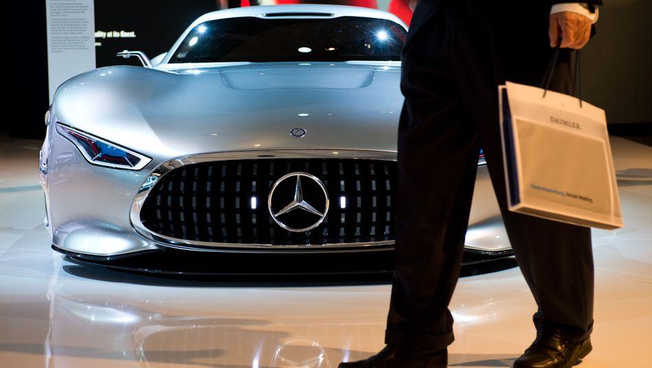 Mercedes-Benz AMG Vision Gran Turismo: Top bei den wertvollsten Marken