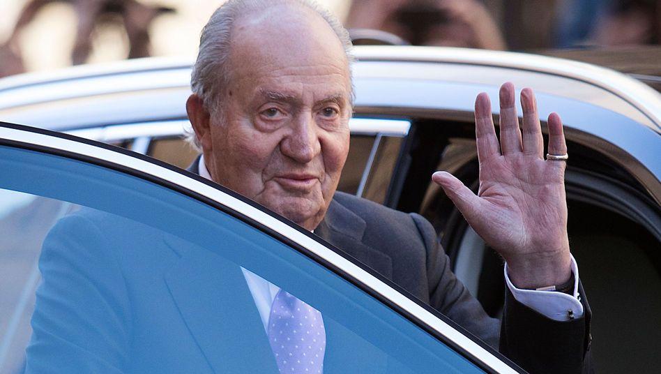 Spaniens Ex-König Juan Carlos (Archiv)