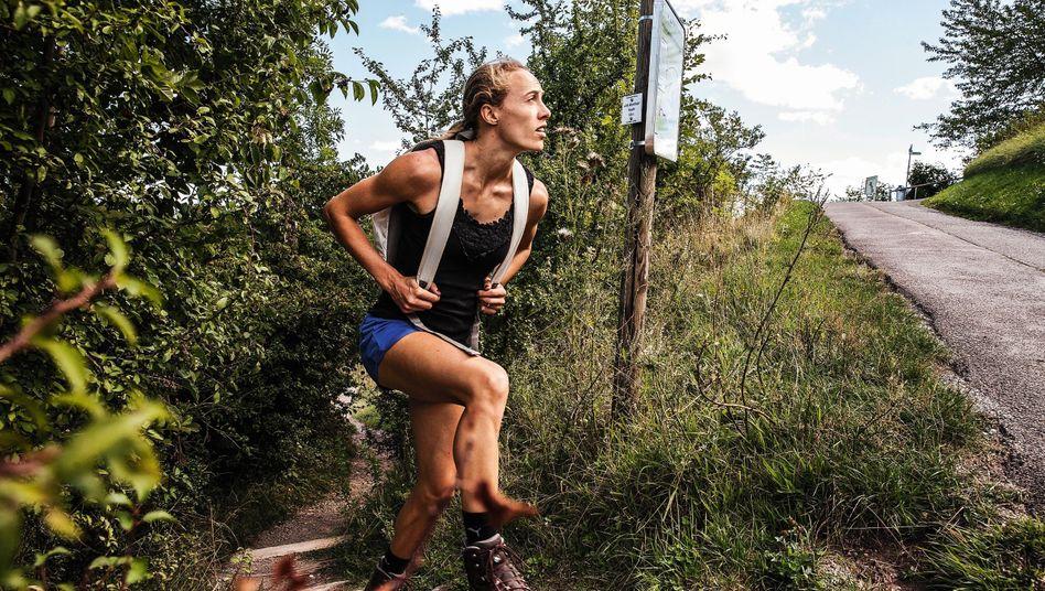 """Ehemalige Leistungssportlerin Baumann: """"Ich bin stolz auf meinen Vater. Aber ich versuche, meine eigene Geschichte zu schreiben"""""""