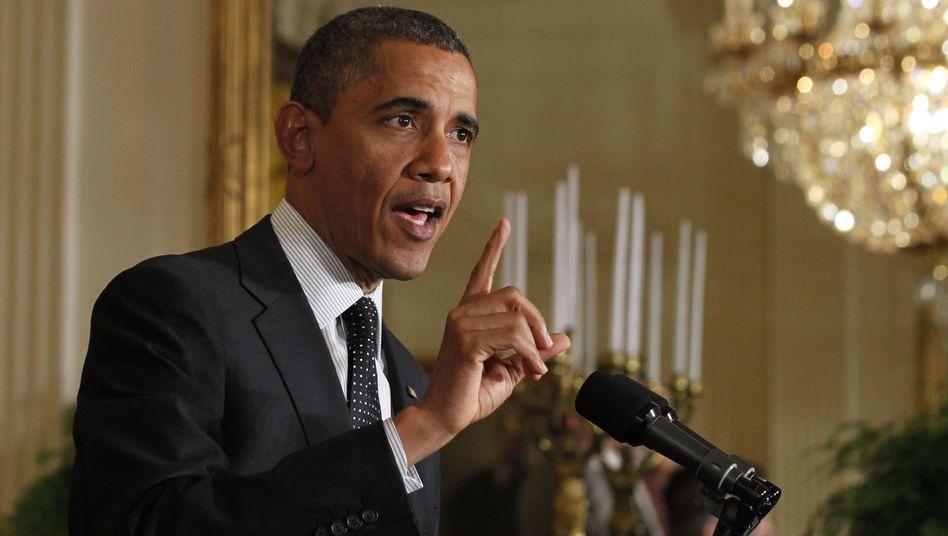 US-Haushaltskrise: Obama bleiben noch 53 Tage