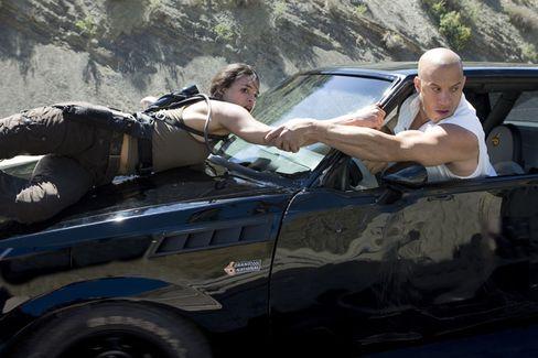 """Darsteller Diesel in """"Fast & Furious"""": Mit Vollgas durch die Innenstadt"""