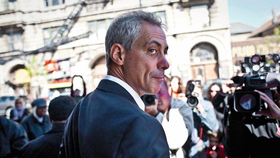 Kandidat Emanuel: Erster in der Provinz?