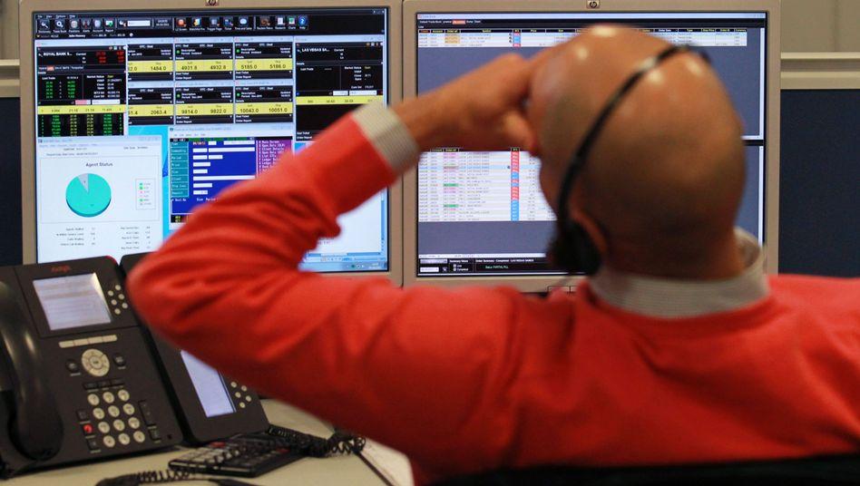 Händler in London: Erholung hält nicht an
