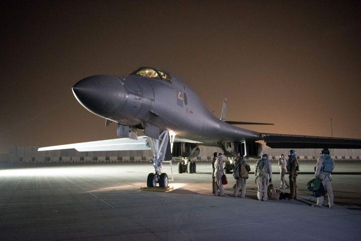 US-Jet in Al Udeid