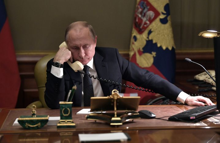 Vladimir Putin: The reporting shows that people close to the Russian president were communicating with the agents at the times of the crimes.