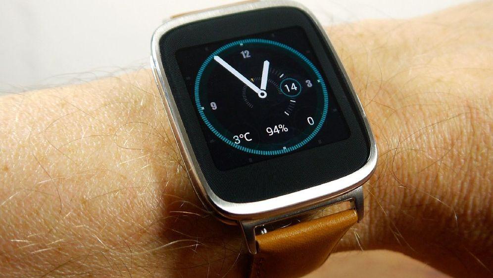 Edle Smartwatch: Die Asus Zenwatch im Test