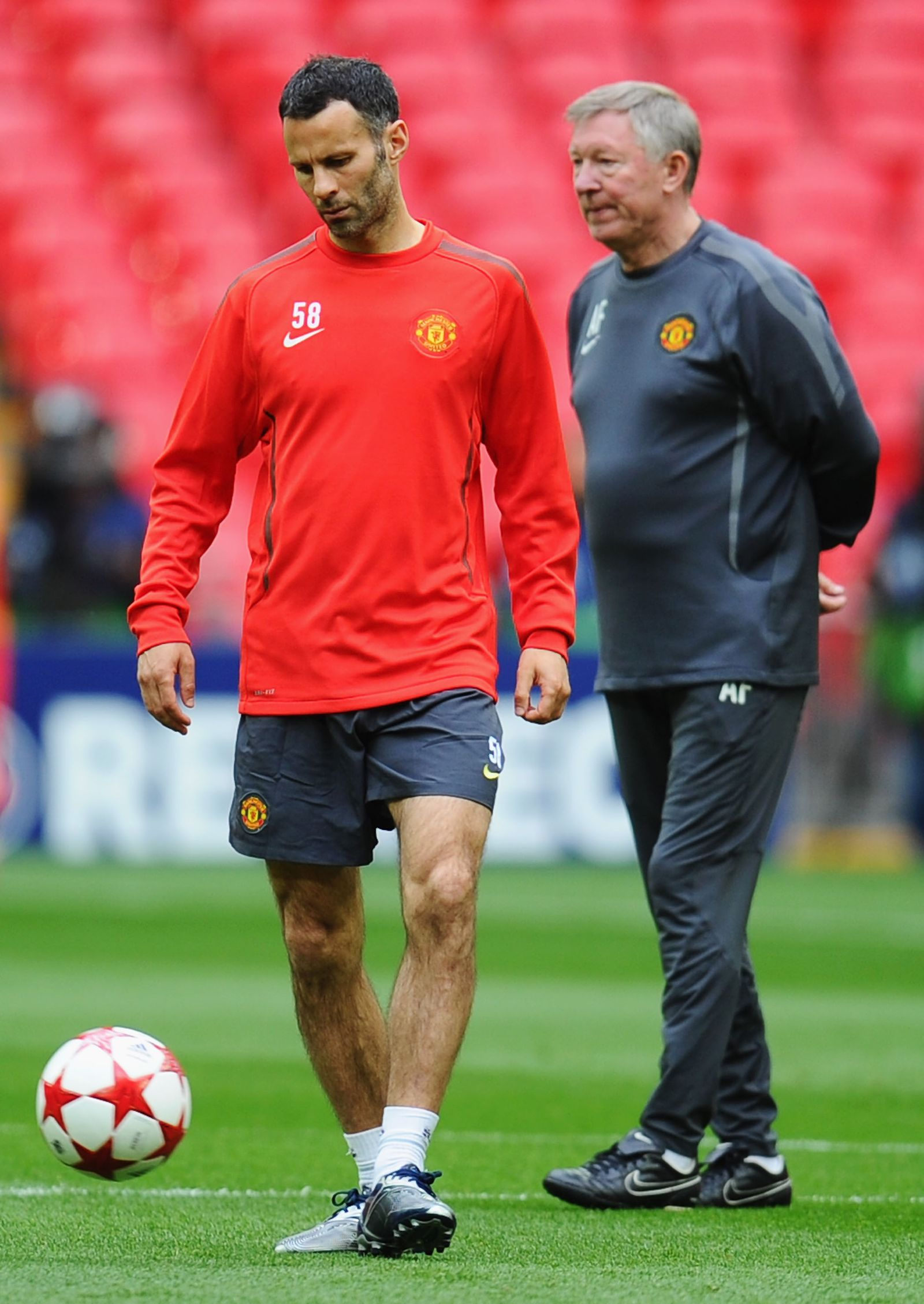 Ryan Giggs / Sir Alex Ferguson