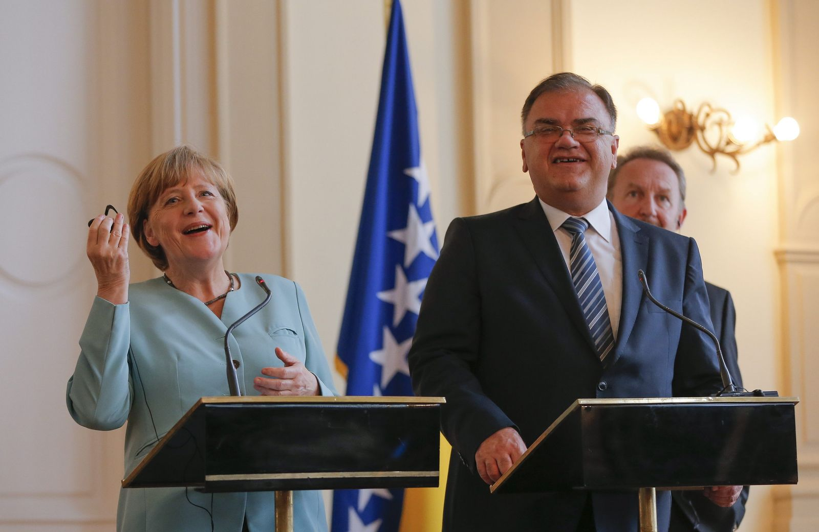 Angela Merkel/Mladen Ivanic