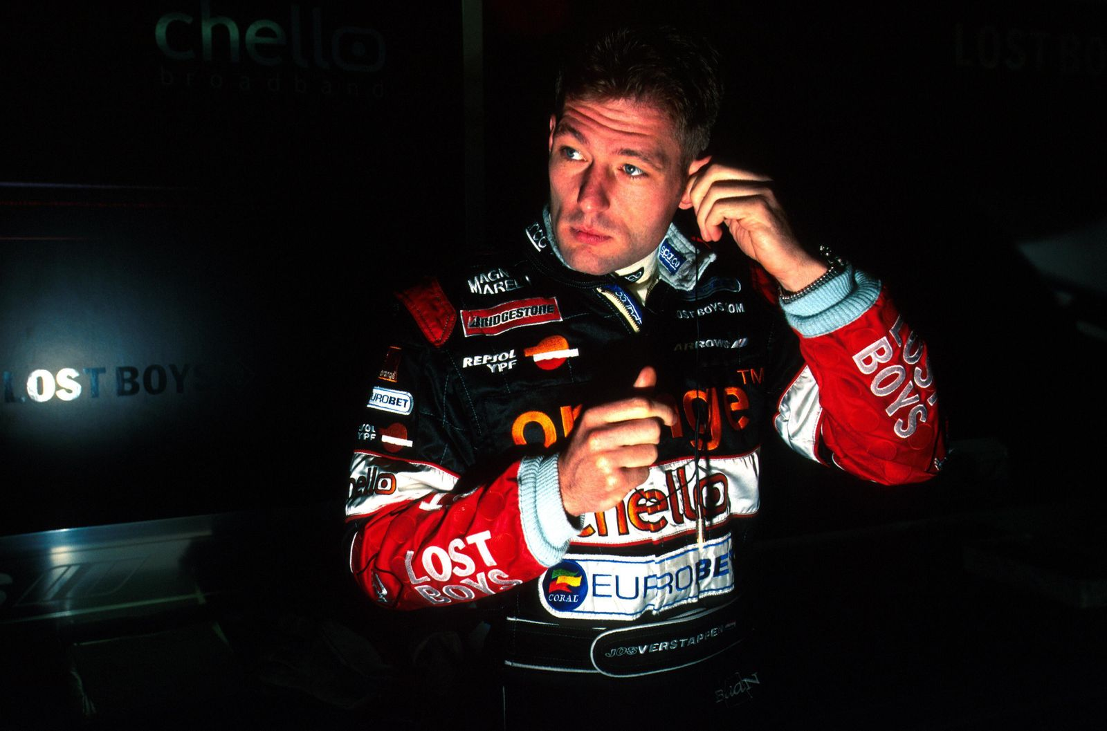 Jos Verstappen (NED) Arrows, 14th place San Marino GP, Imola, 9 April 2000 PUBLICATIONxINxGERxSUIxAUTxHUNxONLY 00sm058