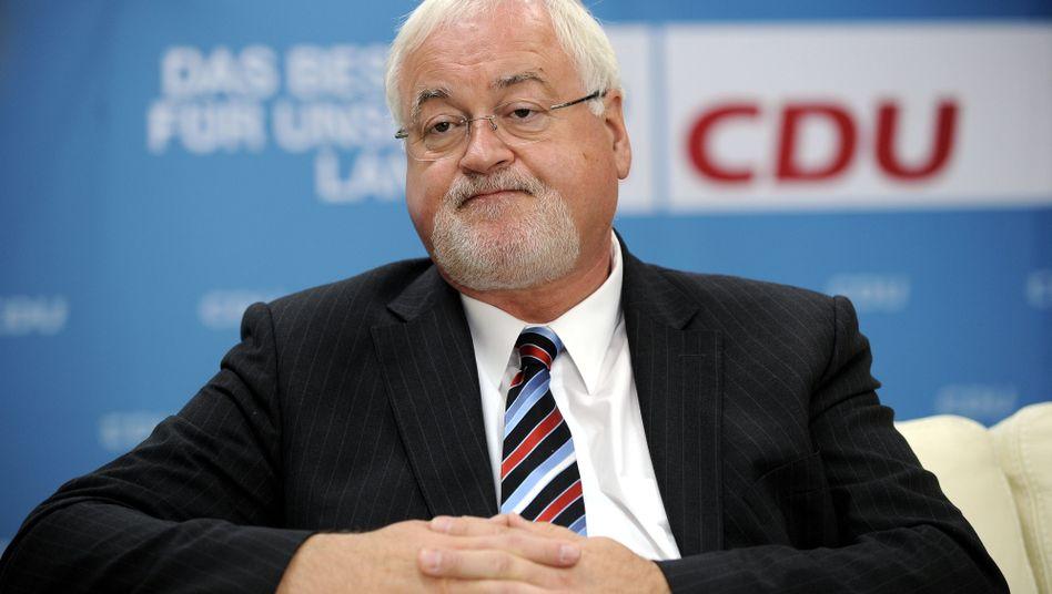 Schleswig-Holsteins Ministerpräsident Carstensen: Kein Spielraum in Landeskasse