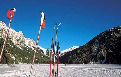 Südtiroler Winterwelt: Niemand hatte bisher Lust, hässliche Hotelkästen in die Antholzer Landschaft zu setzen