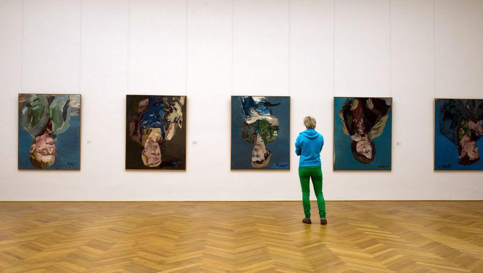 """""""Portraitserie"""" von Georg Baselitz: Gemälde zurückgezogen"""