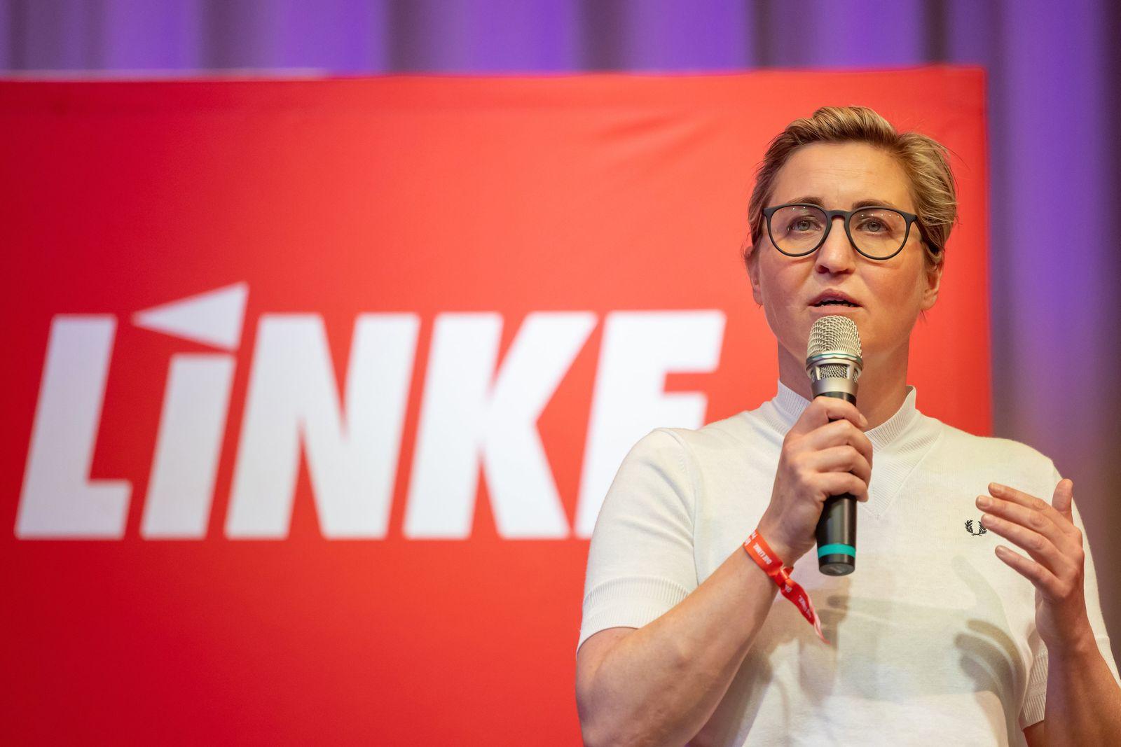 Linke-Bundesvorsitzende Susanne Hennig-Wellsow