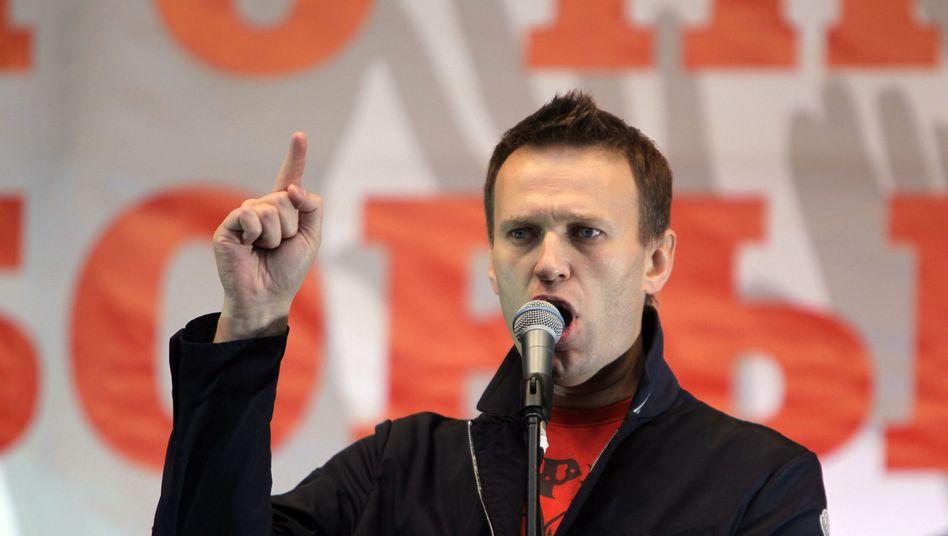 Alexej Nawalny: Der Putin-Kritiker fordert eine Stichwahl