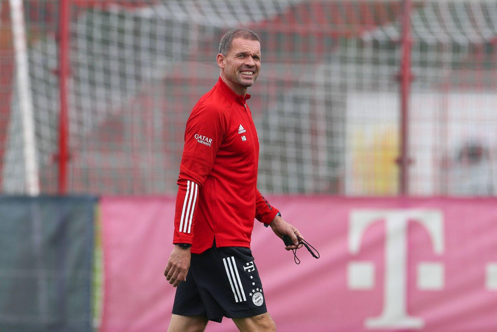 Fitness-Chef Dr. Holger Broich (FC Bayern Muenchen), Training FC Bayern Muenchen, 1.Bundesliga, 11.09.2020 Muenchen Baye