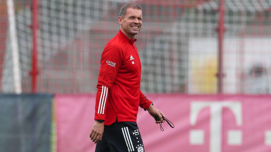 Fitnesstrainer Holger Broich beim Training