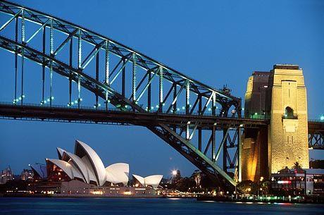 Harbour Bridge in Sydney: Farbe als Frühwarnsystem