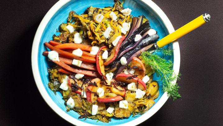 Fotostrecke: Rezept für Herbstliche Rosenkohl-Bowl