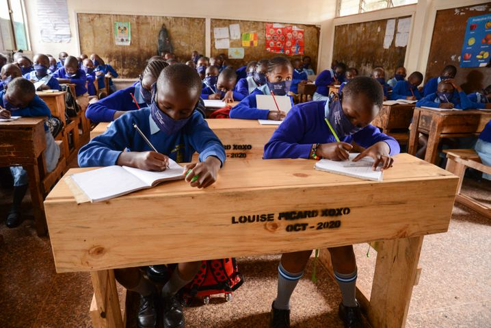 Ein Projekt gegen sexualisierte Gewalt in Slumschulen um Nairobi spricht gezielt Jungen an