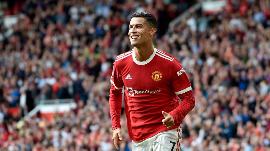 Cristiano Ronaldo zeigte, dass er am Ball nichts verlernt hat