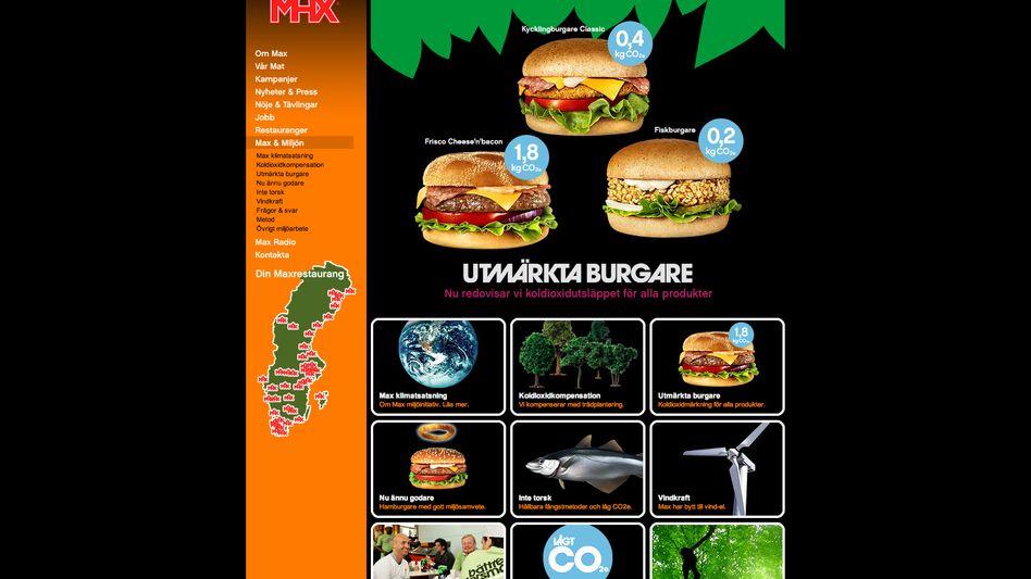 Burger mit CO2-Kennzeichen: Der Verkauf von Fast Food ist um 20 Prozent gestiegen